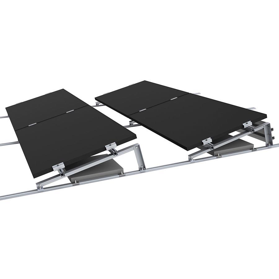 Комплект сетевой солнечной электростанции 12 кВт - 4