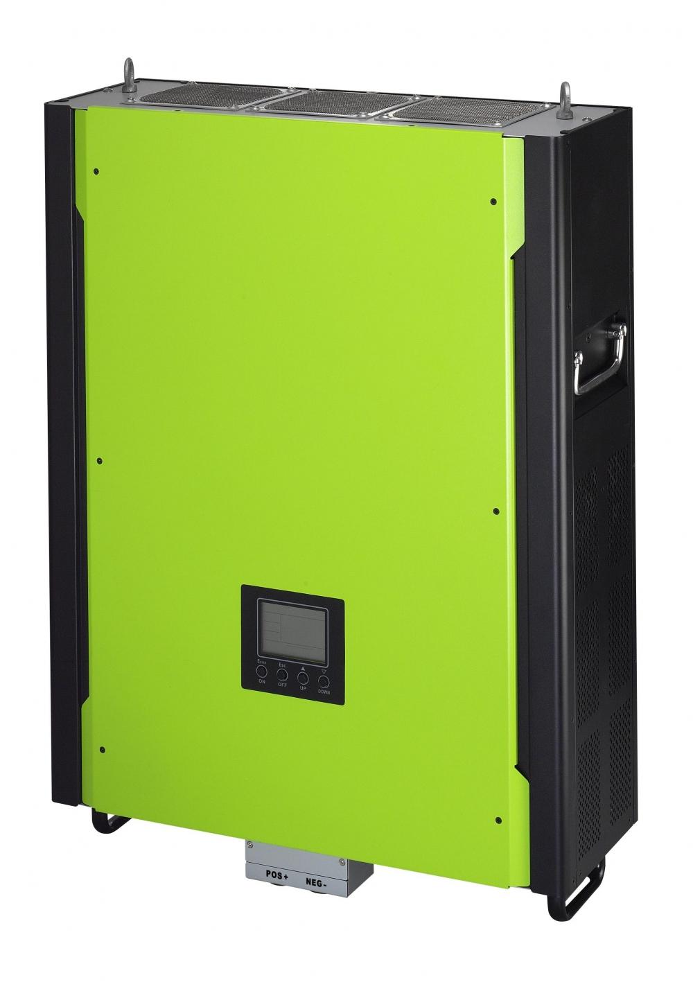 Сетевой солнечный инвертор с резервной функцией 10кВт, 380В, трехфазный (Модель InfiniSolar 10kW) - 1