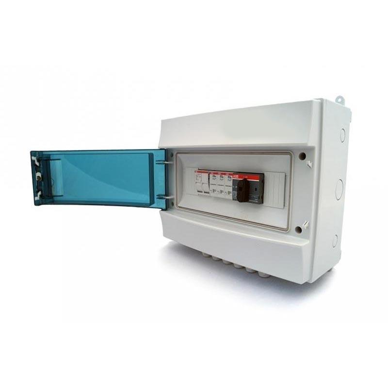 Комплект сетевой солнечной электростанции 12 кВт - 3