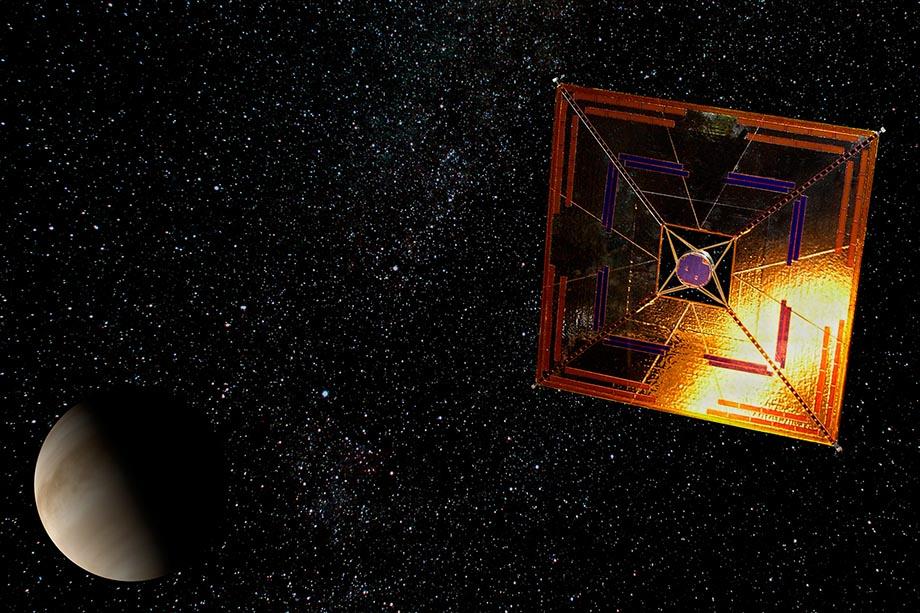 Солнечные панели космических кораблей можно использовать как паруса
