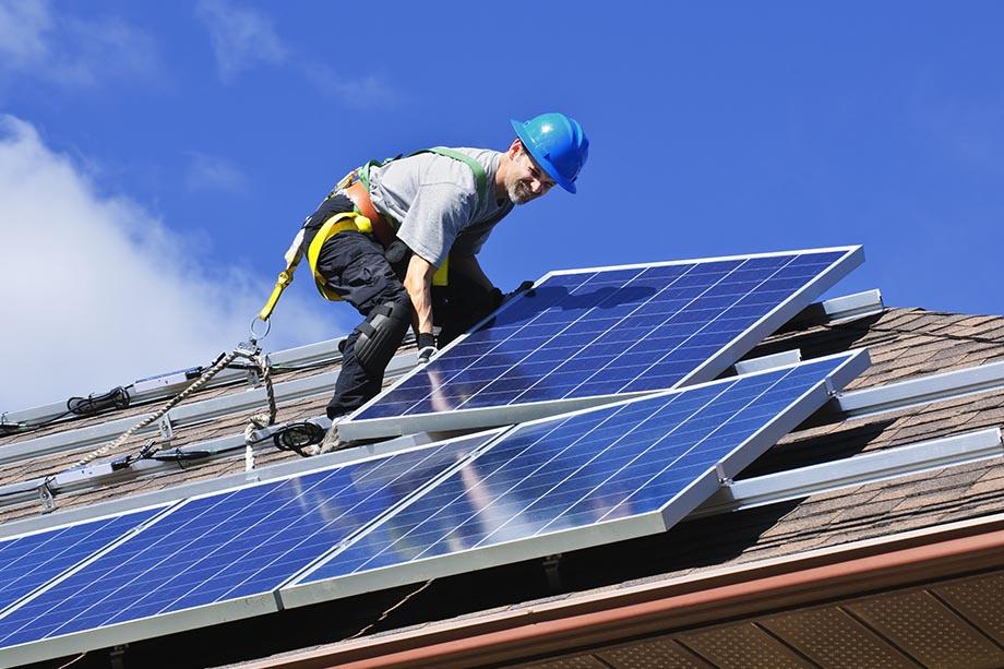 Добавляем мощность солнечной электростанции