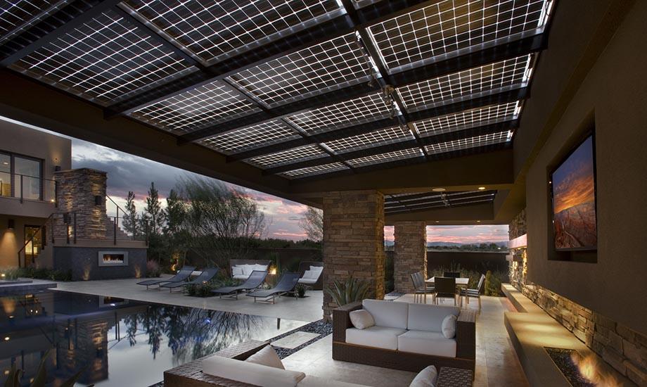 Солнечные модули с двойным стеклом