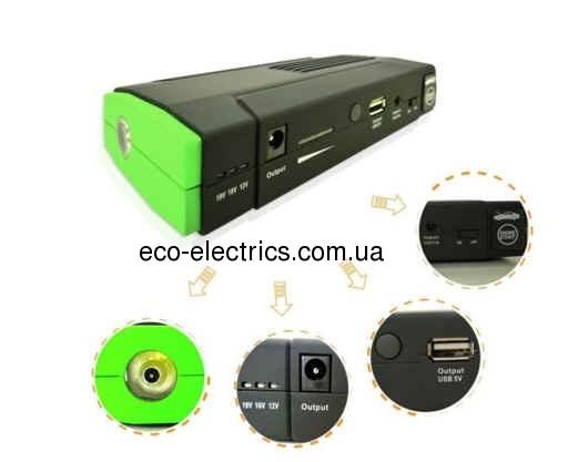 Універсальний зарядний пристрій PowerOn 16000mAh - 1