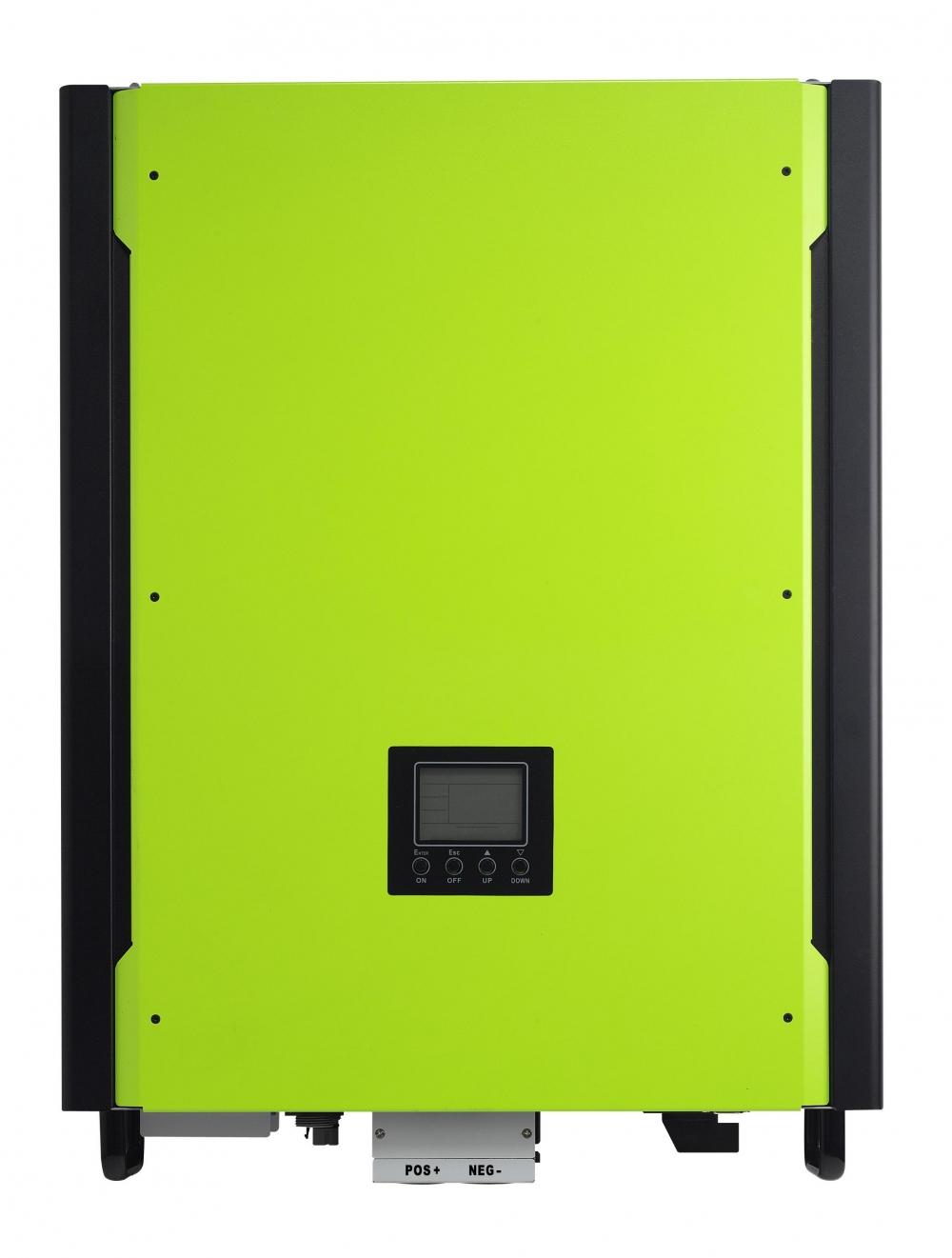 Мережевий сонячний інвертор з резервною функцією 10кВт, 380В, трифазний (Модель InfiniSolar 10kW) - 2