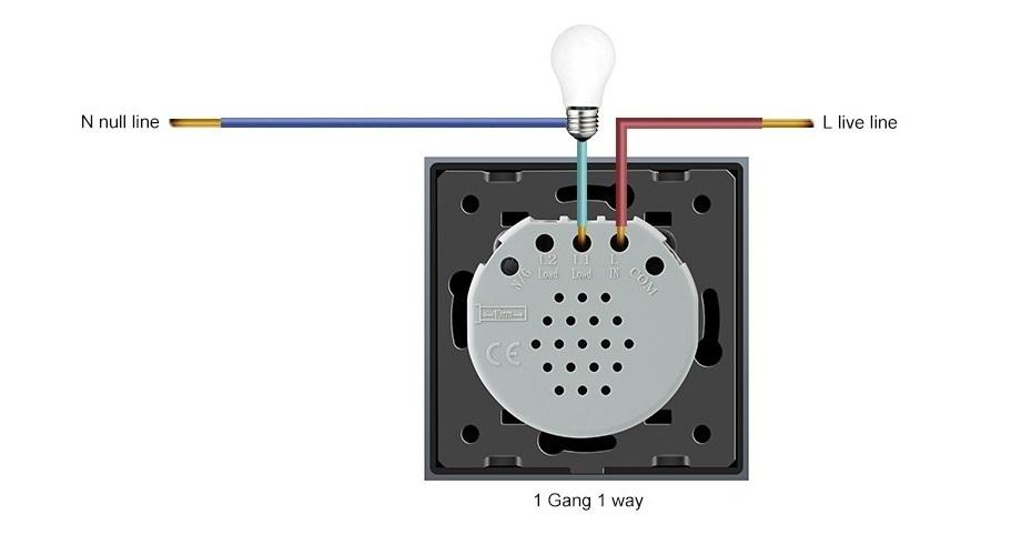 Розумний сенсорний настінний вимикач TC2 - 5