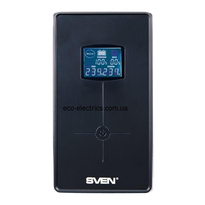 Джерело безперебійного живлення Pro+ 1500 (LCD, USB) - 1
