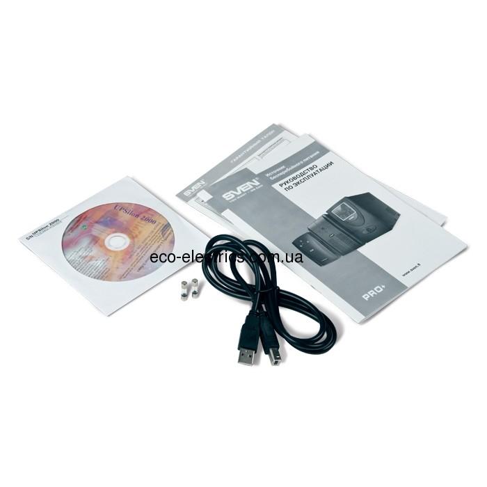Джерело безперебійного живлення Pro+ 1500 (LCD, USB) - 3