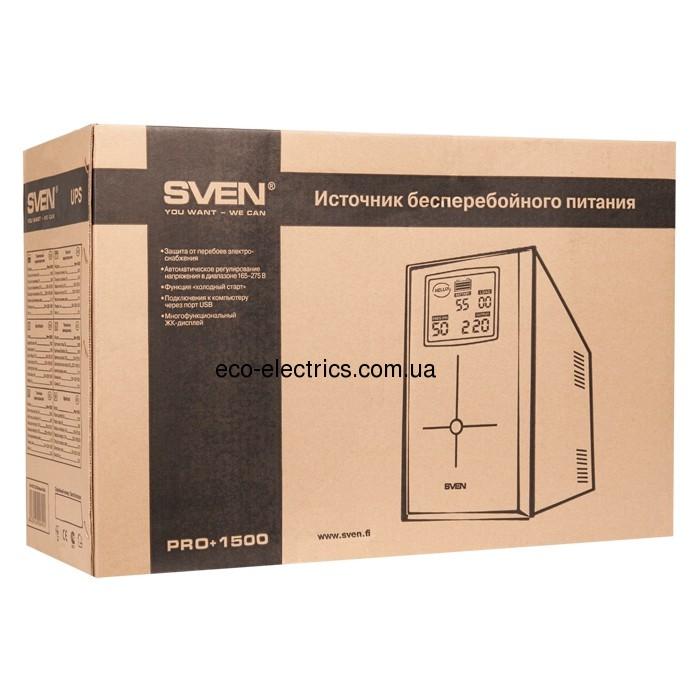 Джерело безперебійного живлення Pro+ 1500 (LCD, USB) - 4